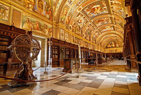 monasterio escorial biblioteca