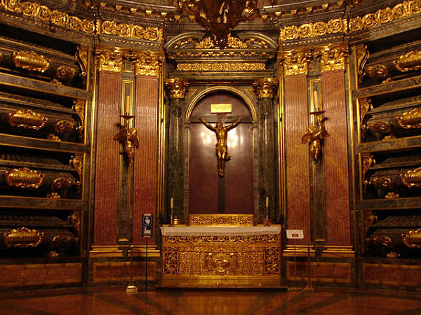 monasterio escorial panteon reyes
