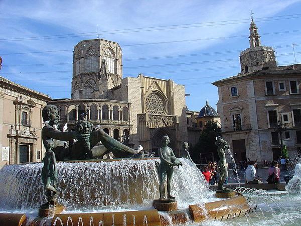 plaza virgen valencia