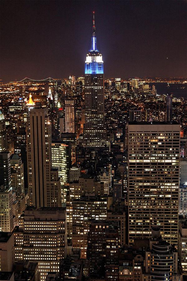 empire state building noche