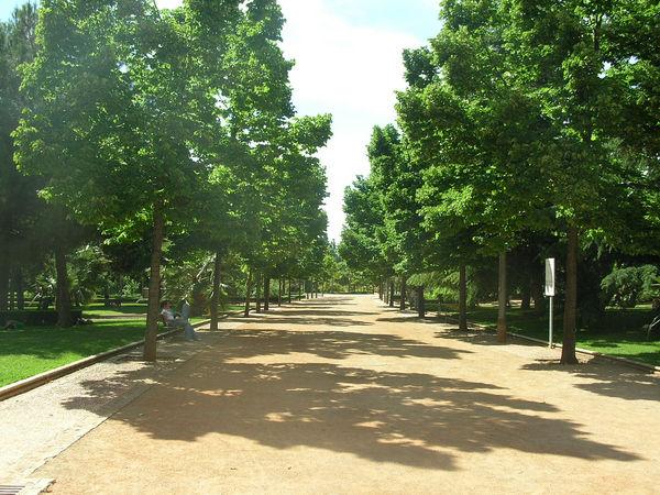 Parque garcia Lorca Granada