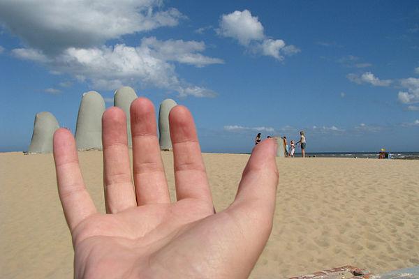 mano playa brava punta este uruguay