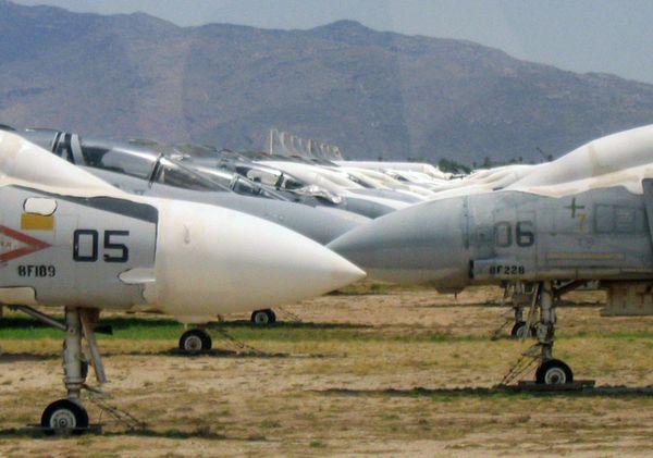 cementerio aviones tucson arizona