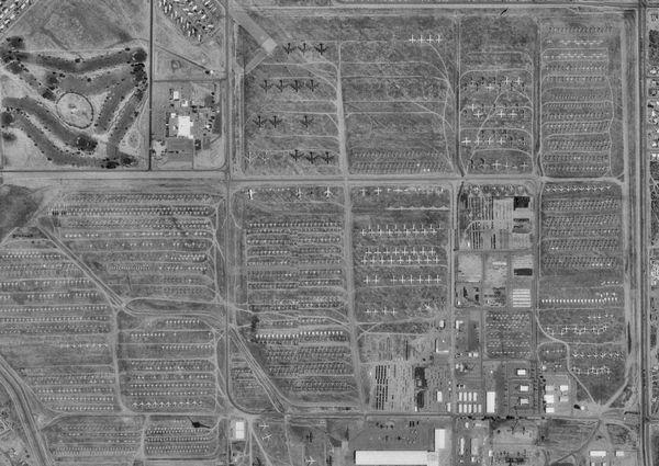 cementerio aviones tucson
