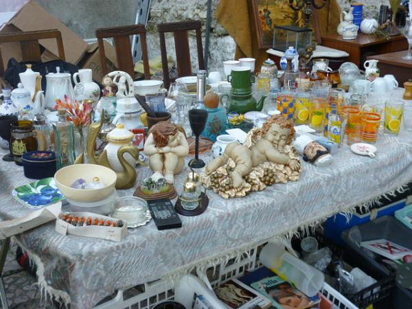 feira ladra objetos
