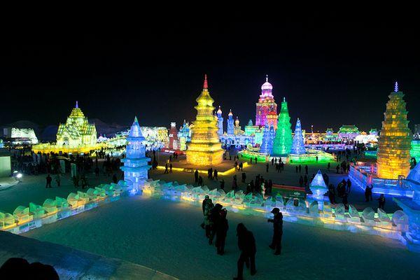 El festival de hielo y nieve de Harbin