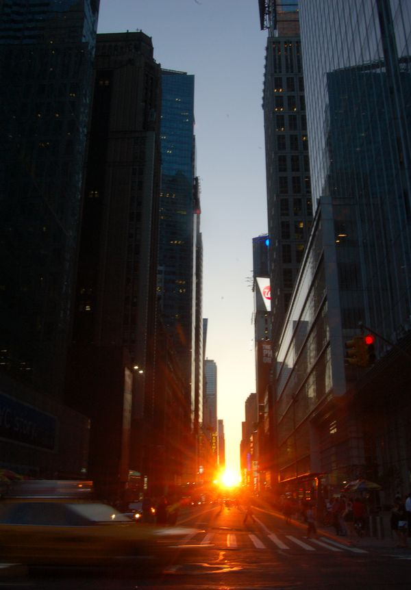 Manhattanhenge nueva york