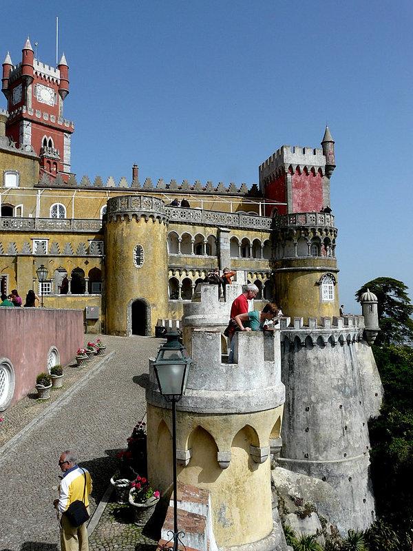 palacio da pena sintra portugal
