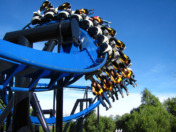six flags batman