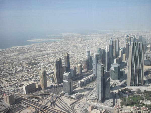 Burj Khalifa dubai vistas