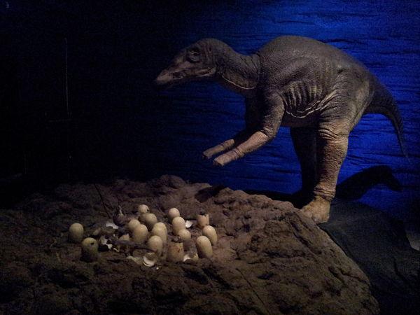 Dinosaurios parque ciencias Granada