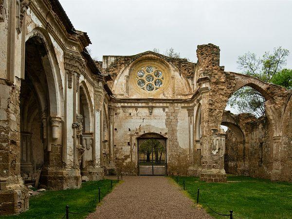 monasterio piedra iglesia