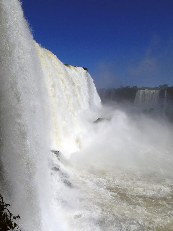 cataratas iguazu saltos agua