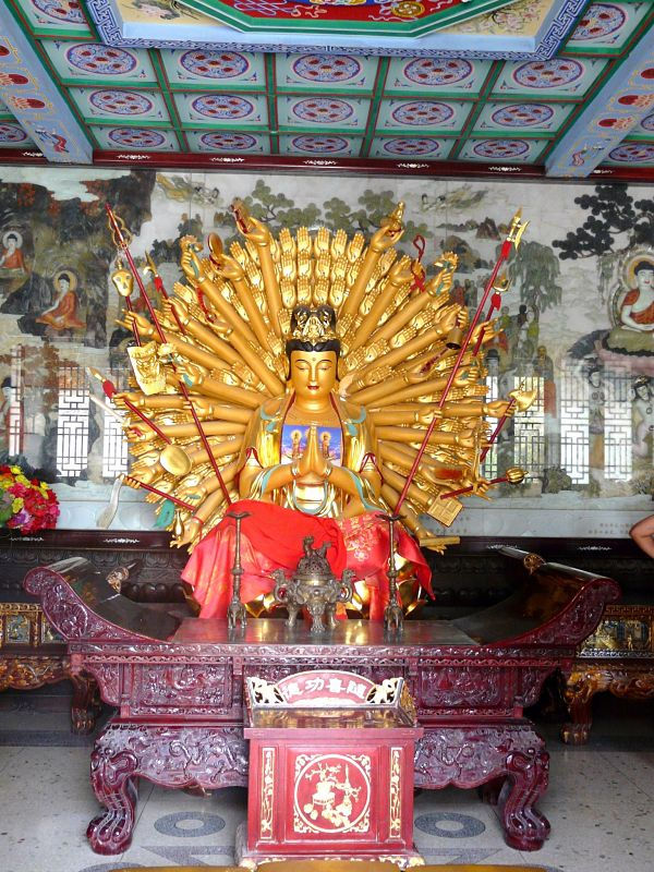 gran pagoda oca salvaje buddha