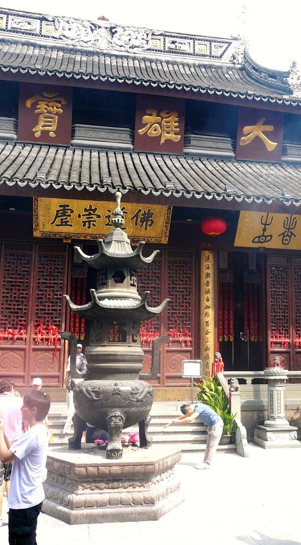 templo buda jade entrada