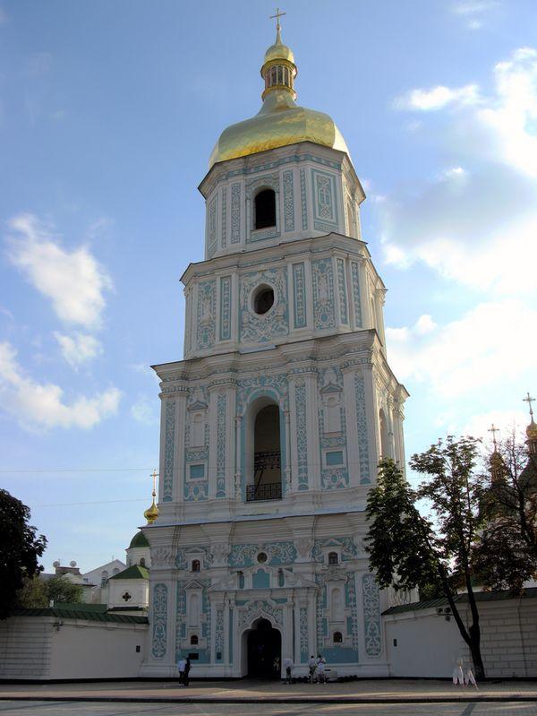 catedral santa sofia kiev campanario