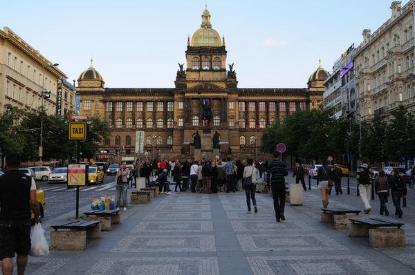 Plaza Wenceslao praga
