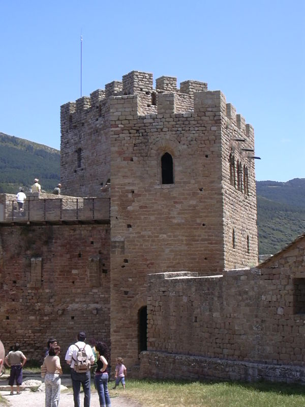 castillo loarre torre