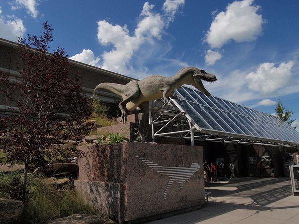 Drumheller museo dinosaurios