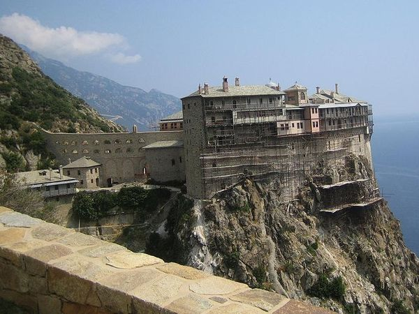 monasterio Simonos Petra