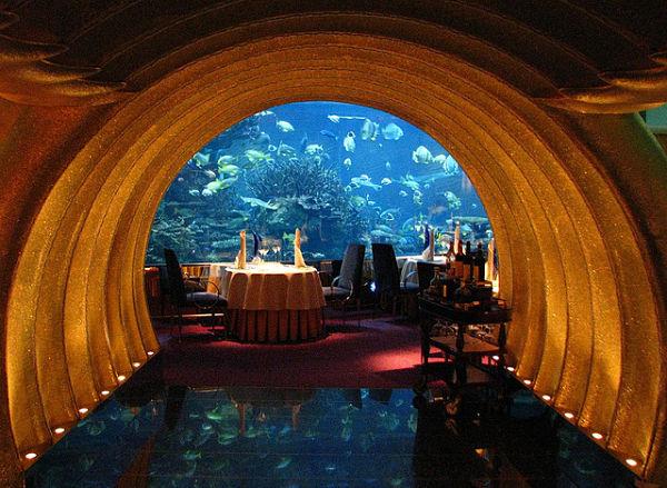 Restaurante Al Mahara Dubai