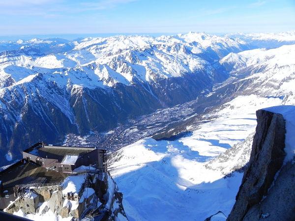 Chamonix esquiar