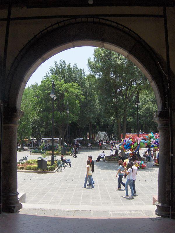 plaza hidalgo coyoacan mexico