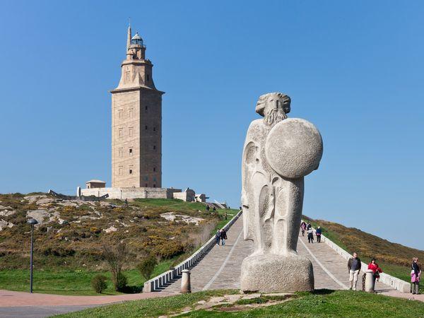 torre hercules coruña