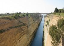 canal corinto grecia