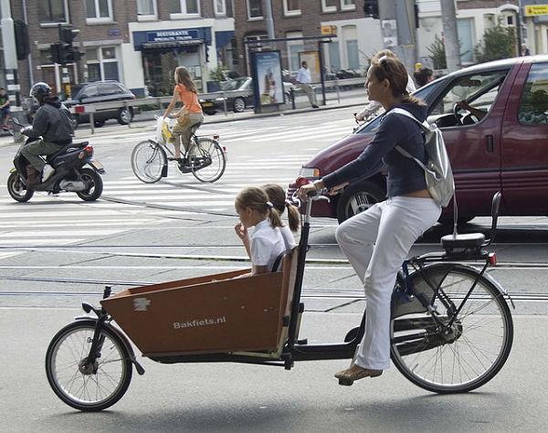 amsterdam bicis niños