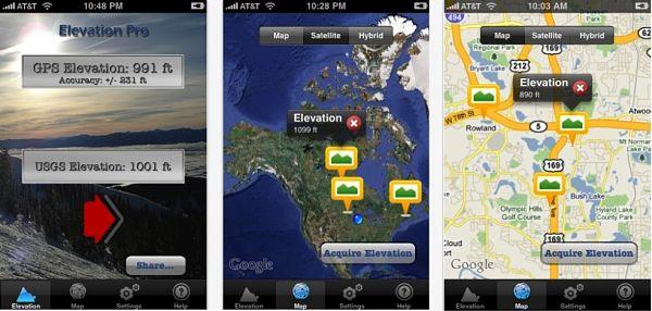 app nieve Elevation Pro