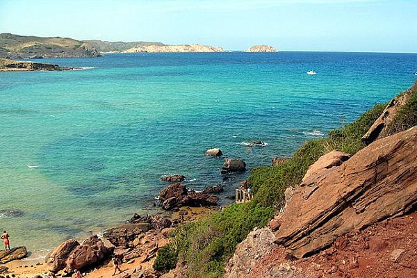 mejores playas españa cavalleria menorca
