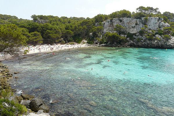 mejores playas españa macarella menorca