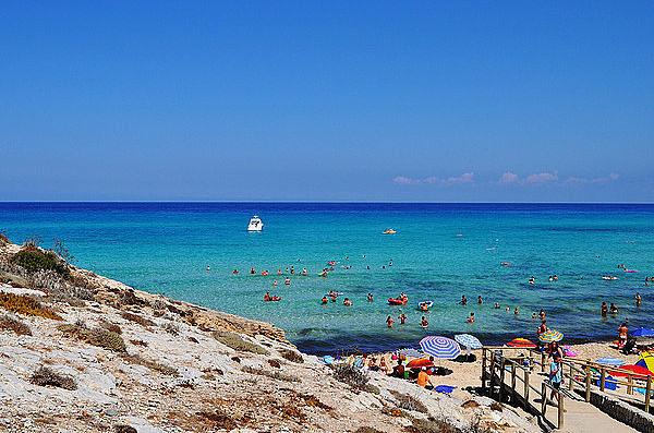 mejores playas españa mesquida mallorca