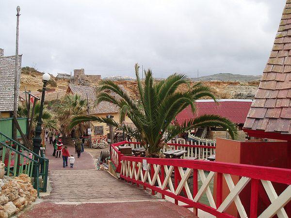 Popeye Village turistas