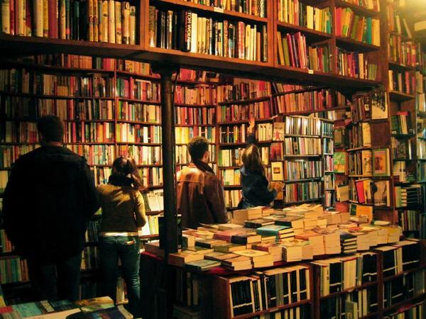 Shakespeare company libreria interior