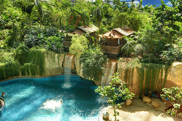 tropical islands Lago tropical