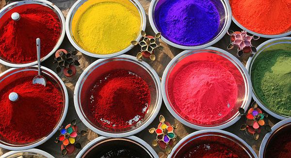 holi fiesta colores