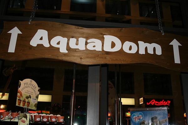AquaDom acuario Berlin entrada