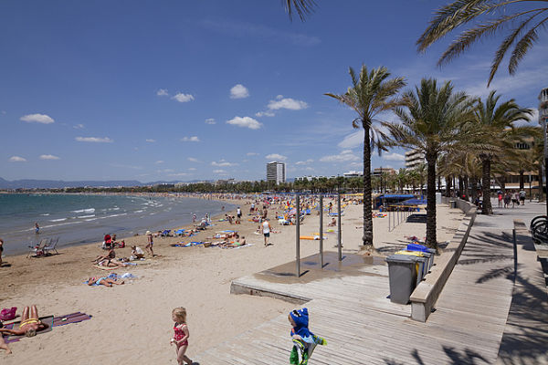salou playa levante