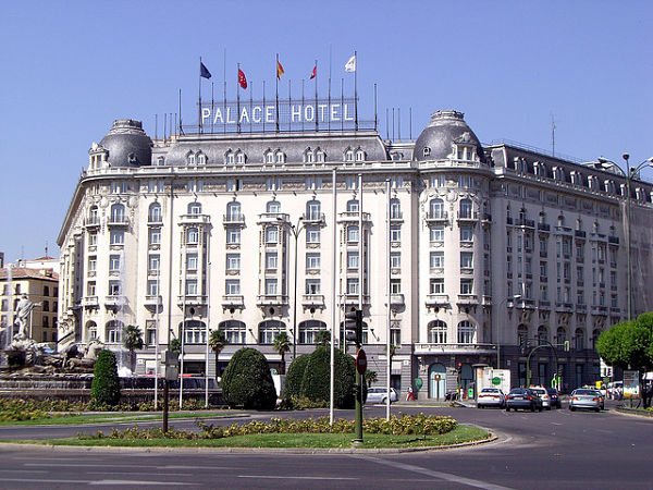 hotel palace madrid