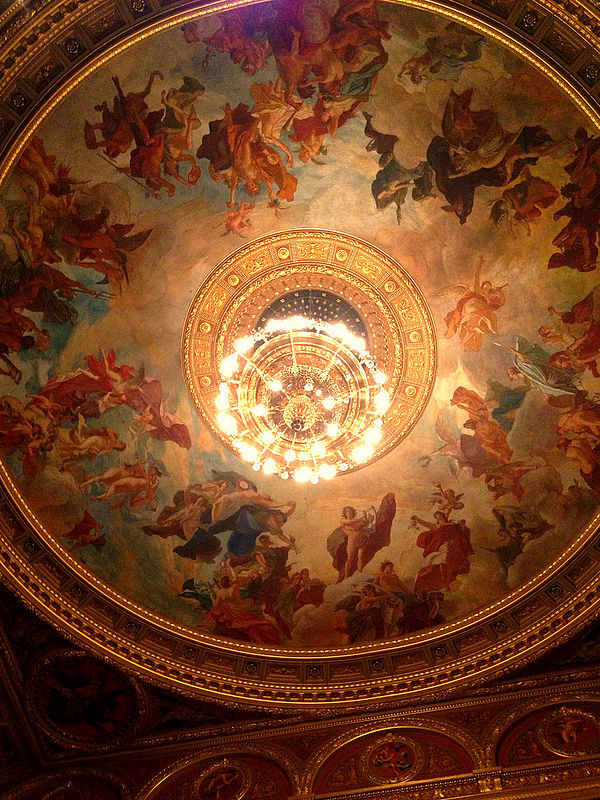 opera nacional budapest cupula