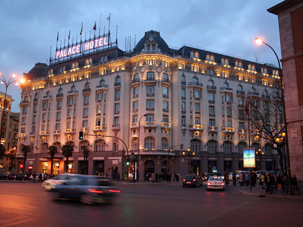 palace hotel madrid