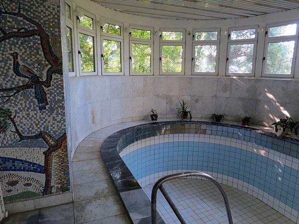Sochi casa Stalin piscina