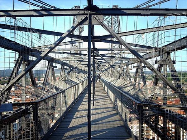 puente colgante bilbao entrada guias