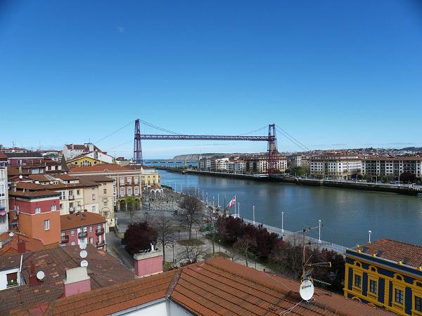 puente colgante bilbao portugalete
