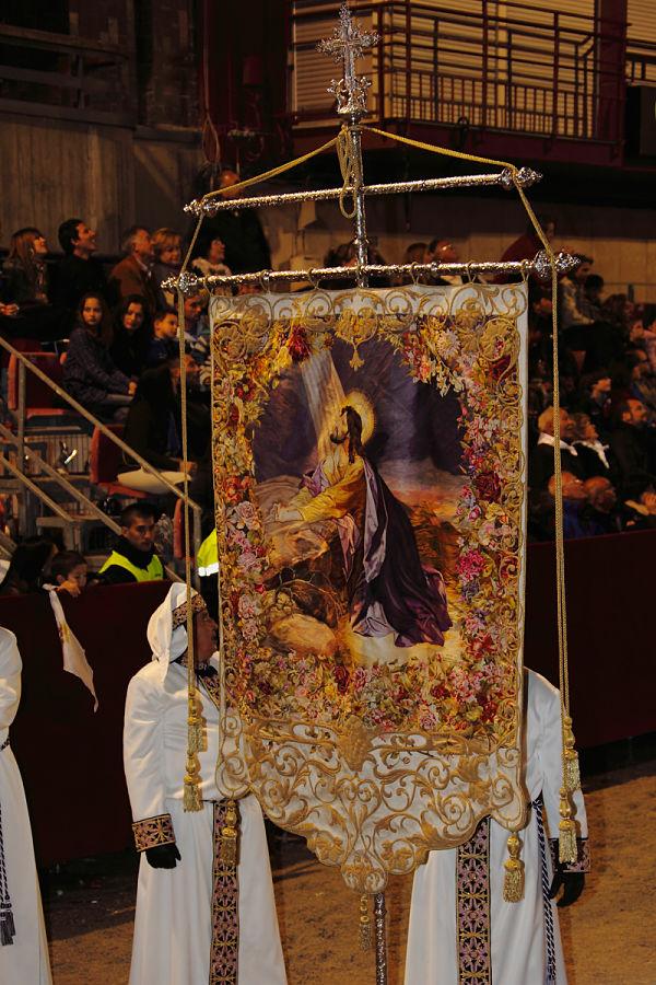 Semana Santa Lorca estanderte Oración