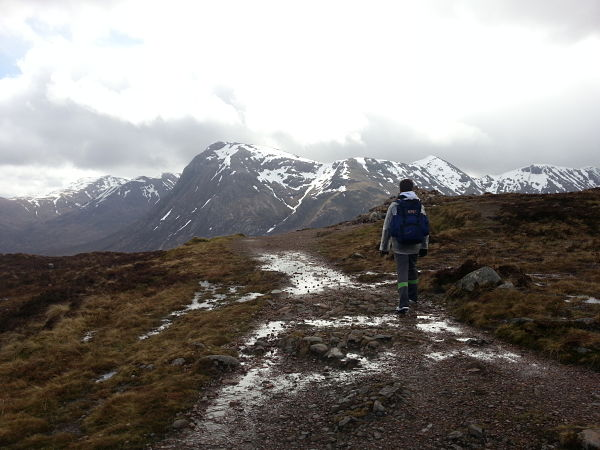 West Highlands Way Escocia