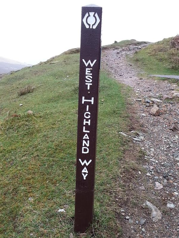 West Highlands Way ruta