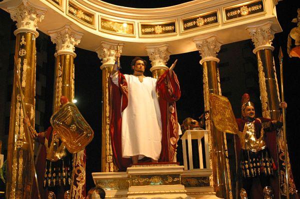 semana santa Lorca carroza Neron
